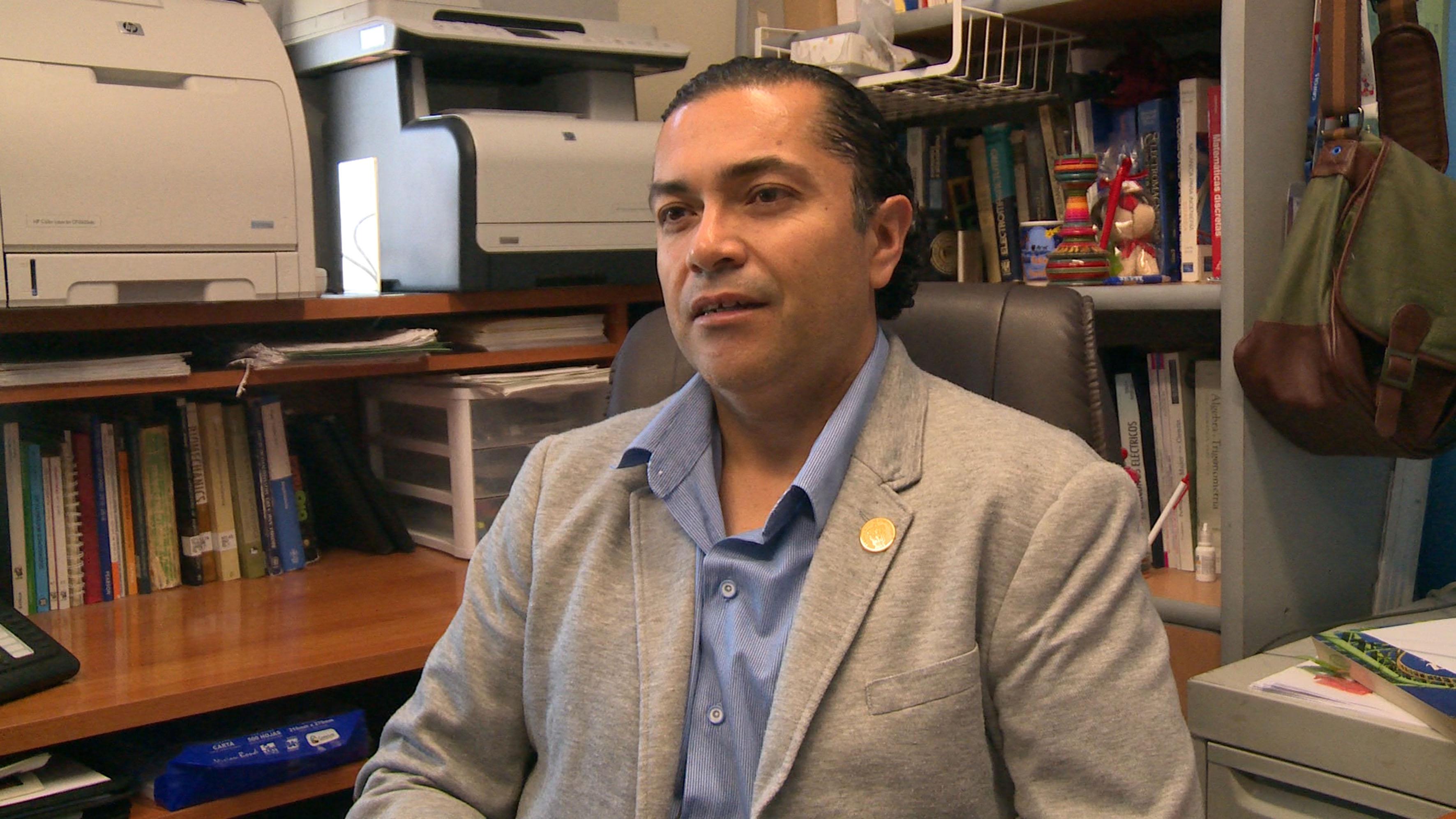 Rubén Arturo Rodríguez Rojas, del Centro Universitario de los Lagos