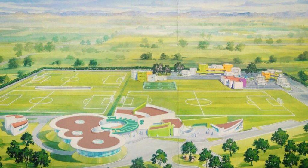 """La Casa Club y Universidad del Futbol, """"La Esmeralda"""", prevé albergar a la agrupación deportiva, ubicada en Ciudad Maderas"""