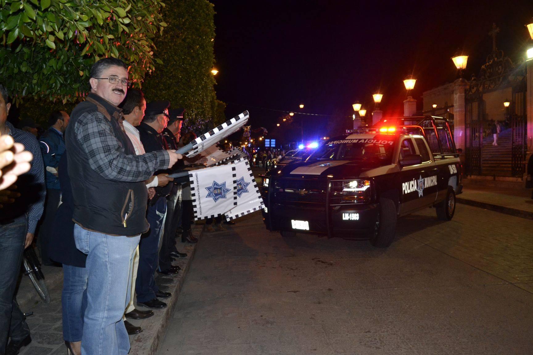 Photo of Policía Municipal recibe 6 nuevas patrullas
