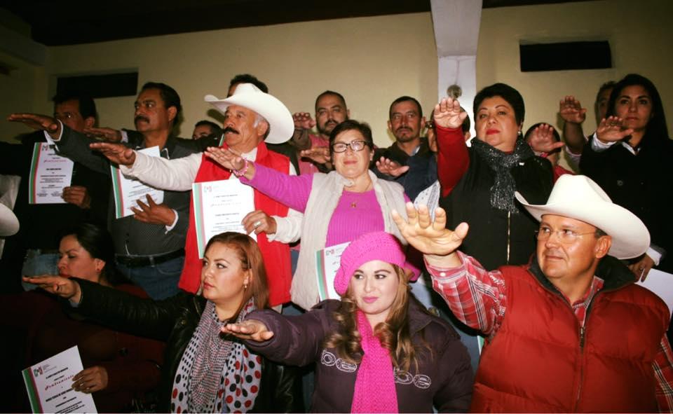 Photo of Toma protesta nuevo Comité Directivo Municipal del PRI en Unión de San Antonio
