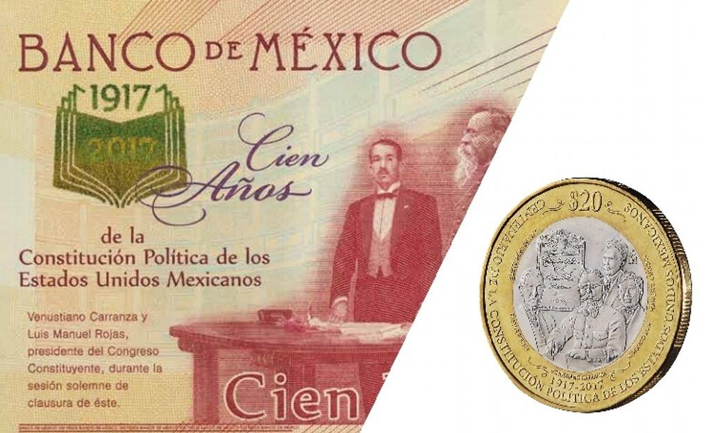Photo of Banco de México presenta billete y moneda conmemorativos por Centenario de la Constitución