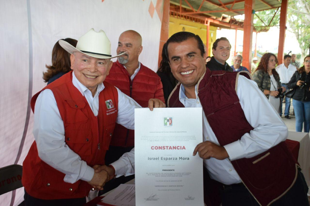 Photo of Regresa Israel Esparza a dirigir el PRI Lagos