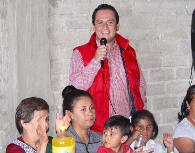 """Photo of El Diputado Local Hugo René visitó la Comunidad de """"La Pascuala"""""""