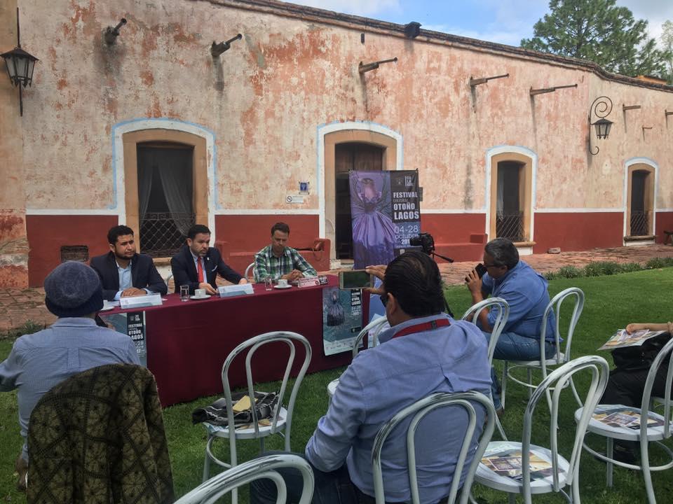 """Photo of Presentan el Festival Cultural """"Otoño en Lagos"""""""
