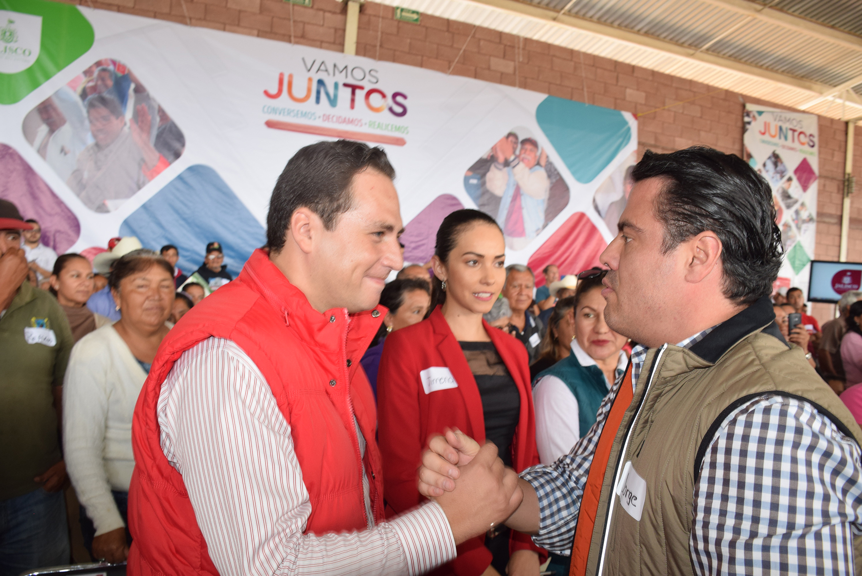 "Photo of ""Vamos Juntos"" llega a la zona Altos Norte"
