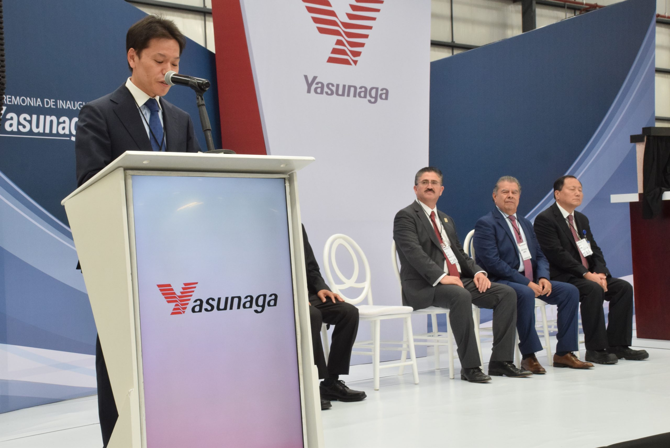 Photo of Inauguran la empresa Yasunaga en el Parque Industrial