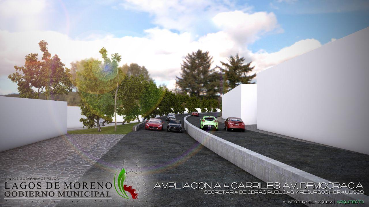 Photo of Continúa proyecto en la ampliación de la Avenida Democracia