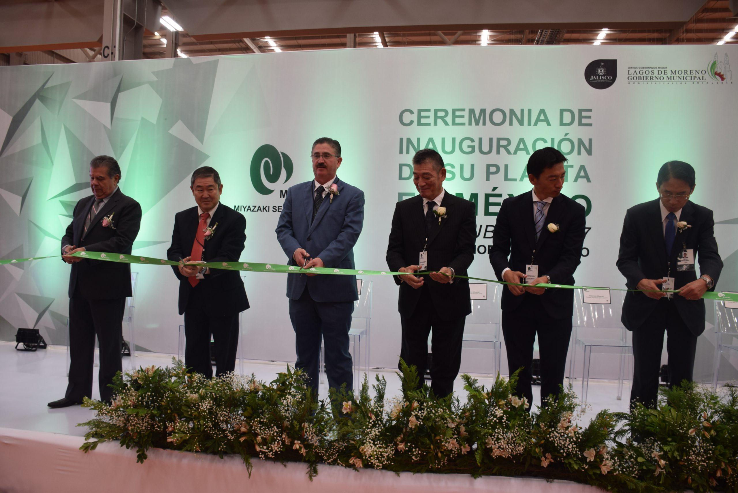 Photo of Inauguran Planta de Miyazaki Seiko en Lagos de Moreno
