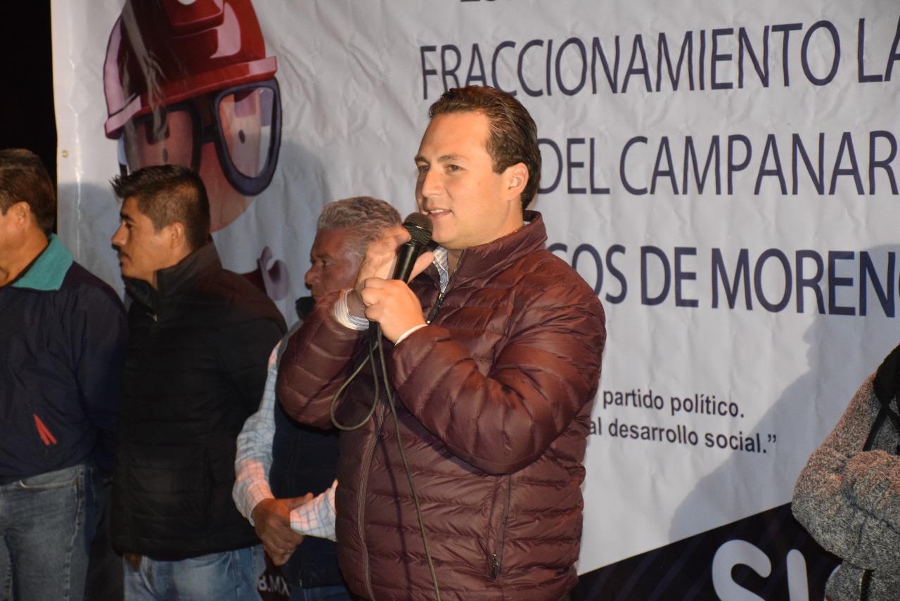 Photo of El Diputado Hugo René gestionó recurso para obra en Laureles del Campanario
