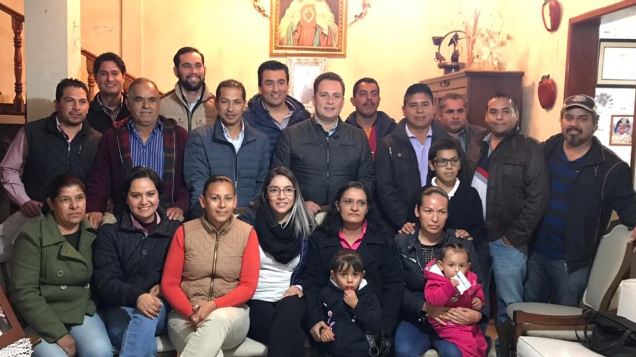 Photo of Marco Antonio González expresa su apoyo a Hugo René