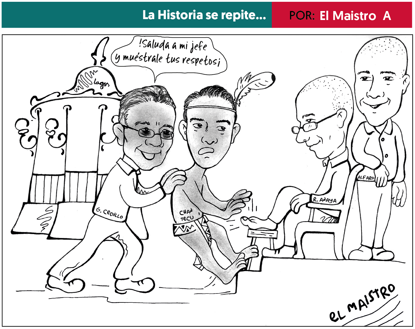 Photo of Cartón Febrero 2018 – El Maistro A