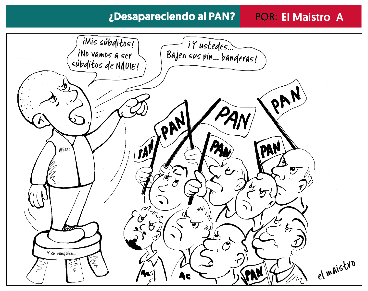 Photo of Cartón 2 Febrero 2018 – El Maistro A