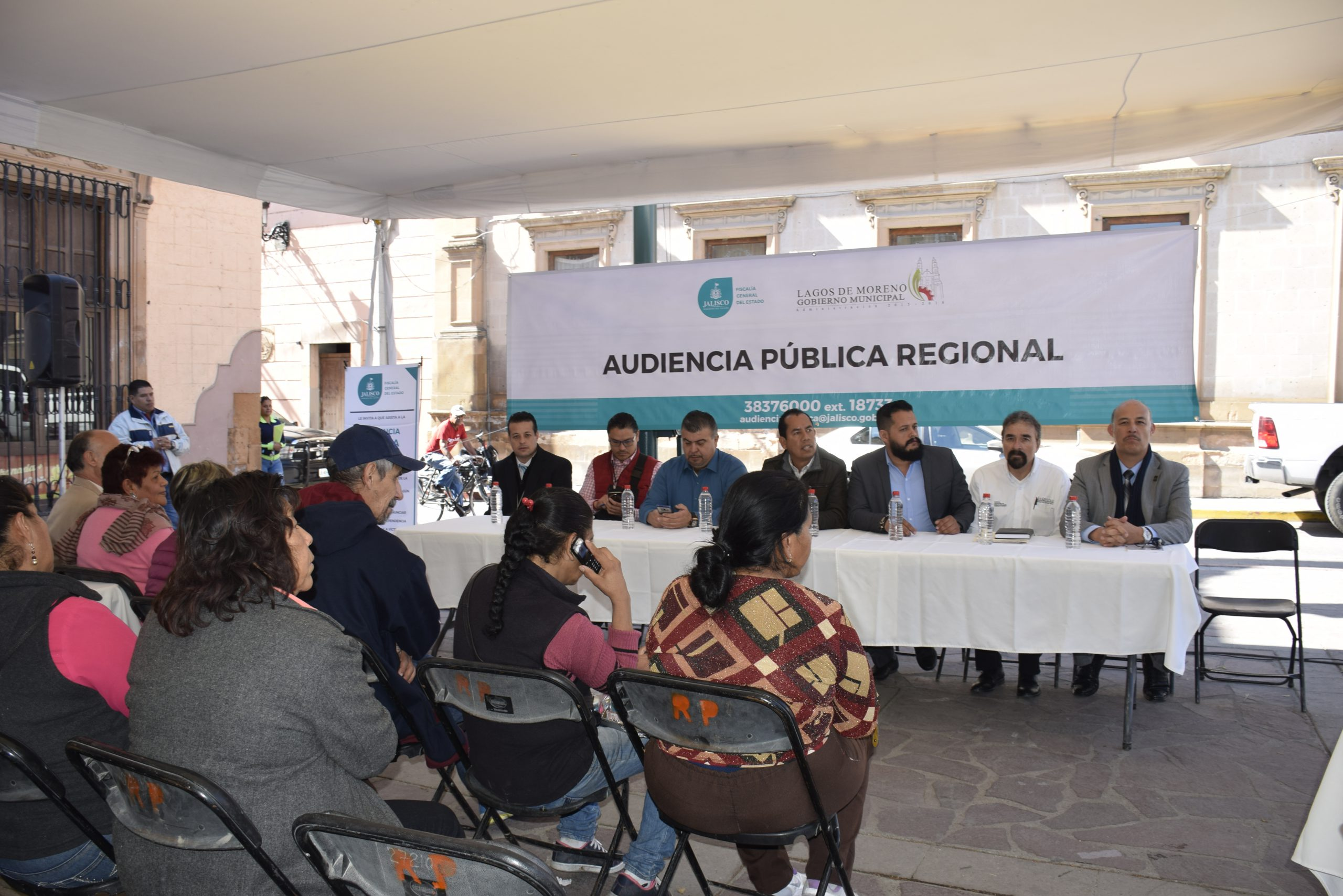 Photo of Realiza FGJ la segunda Audiencia Pública en Lagos de Moreno