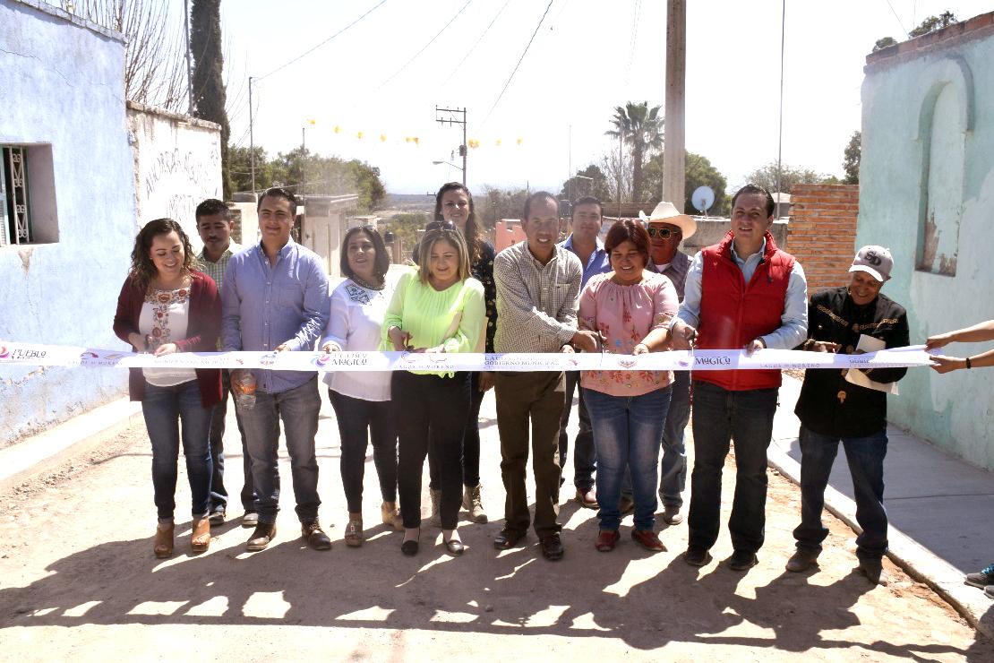 Photo of Inauguran obras en San Antonio Buenavista y El Conejo