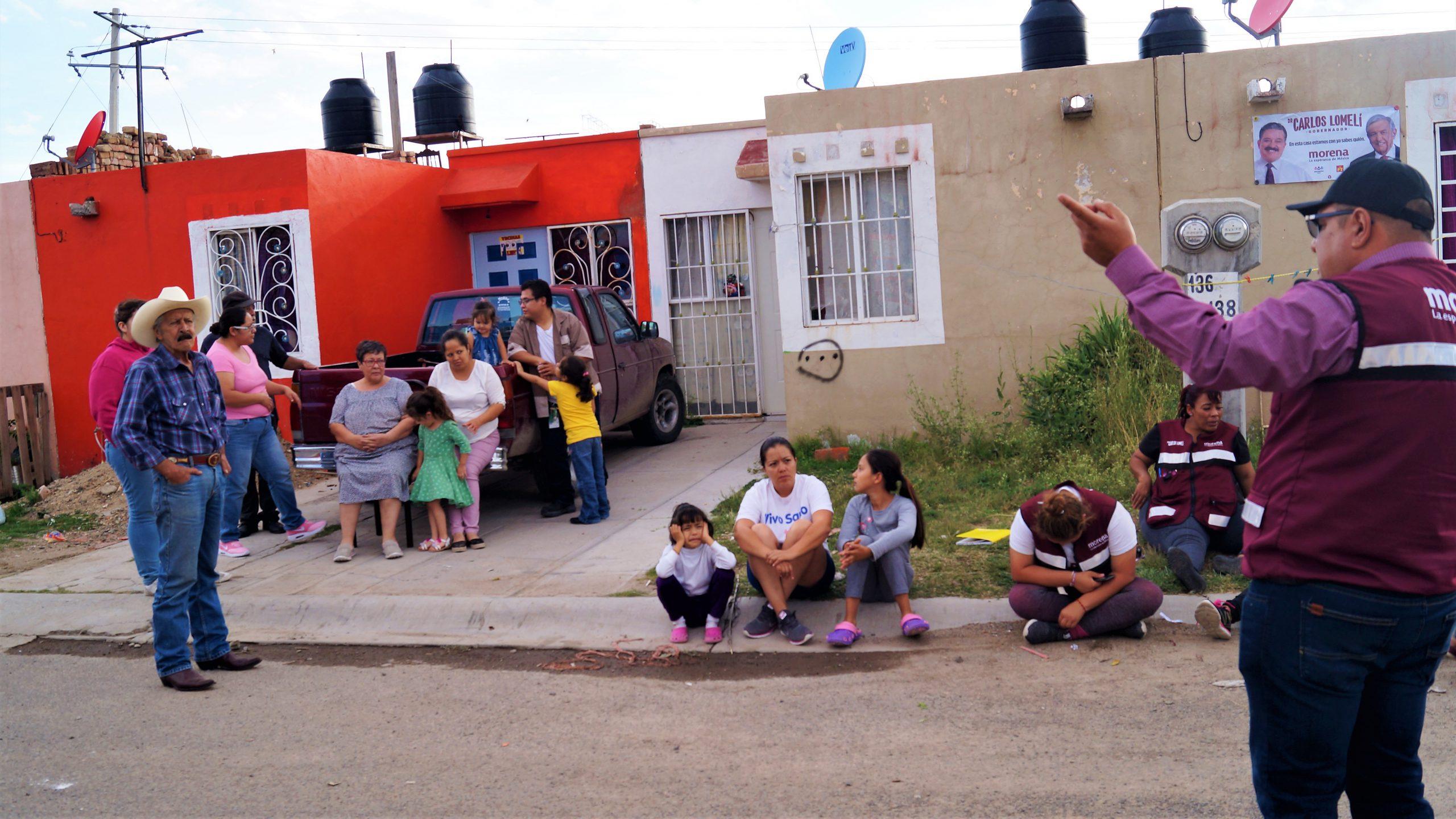 Photo of Gerardo Sánchez se reúne con vecinos de Vista Hermosa