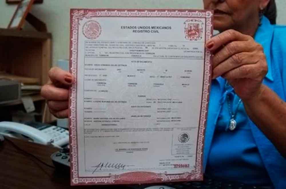 Photo of La oficina del Registro Civil extiende actas de nacimiento de cualquier estado de la República