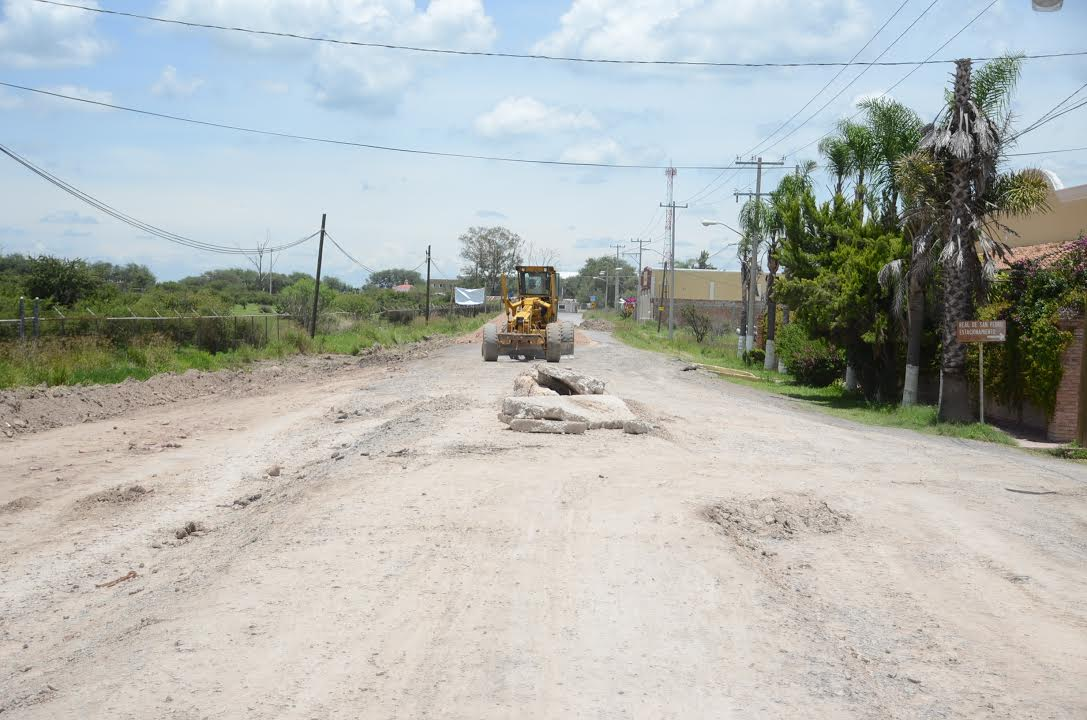 Photo of Culmina administración realizando obra pública