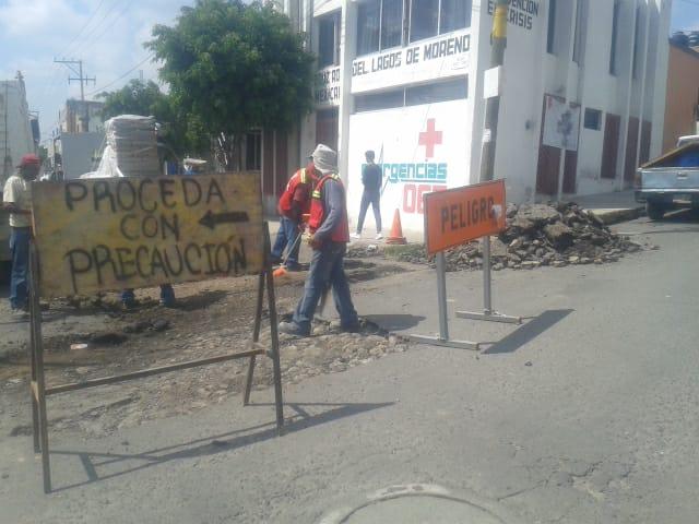 Photo of Trabaja Ayuntamiento bacheando el Orozco y Jiménez