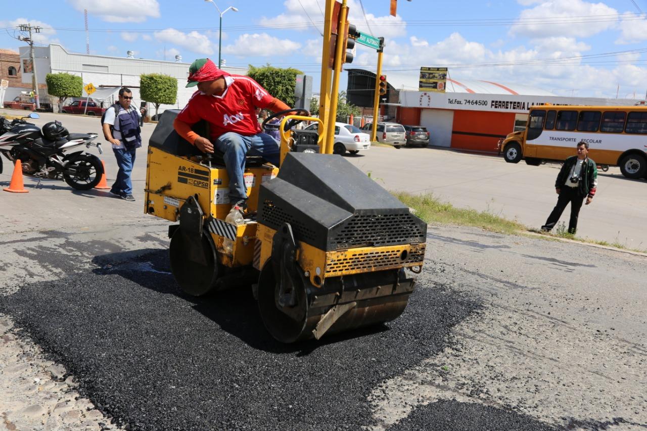 Photo of Comienzan el bacheo en la ciudad