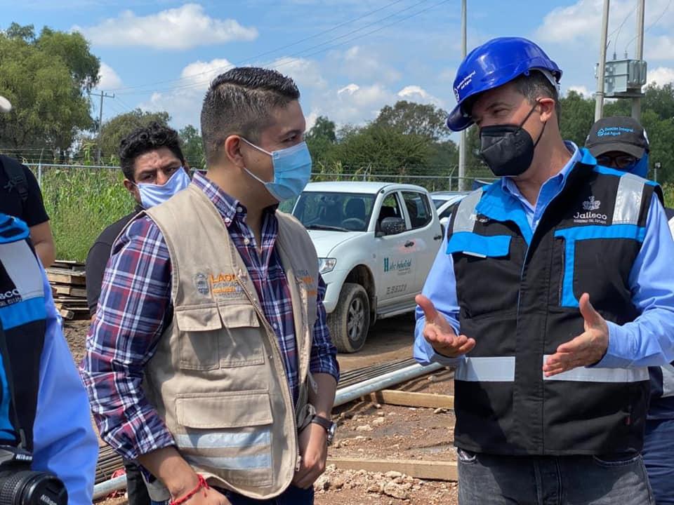 Photo of Autoridades supervisan los avances de la planta tratadora en La Laguna