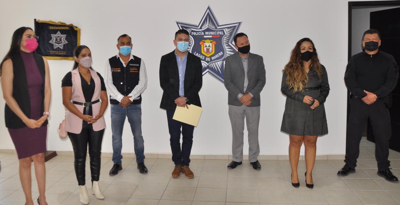 Photo of El Presidente Municipal inaugura la Unidad Especial de atención a mujeres