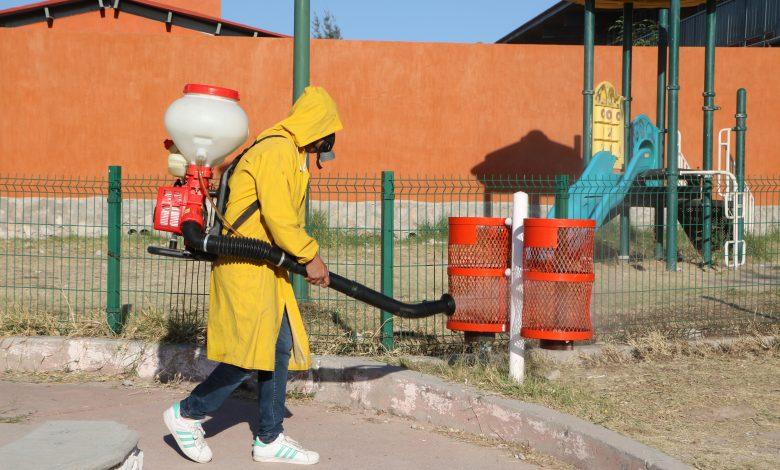 Durante esta semana, se sanitizarán espacios públicos en las colonias de San Miguel, Lomas del Valle, Las Huertitas, calles principales en zona centro y mercados municipales