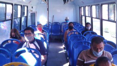 Photo of Revisión de medidas sanitarias en el transporte público por autoridades municipales#
