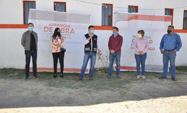 Iniciaron los trabajos de rehabilitación en las instalaciones del Programa Alimentario, del DIF Municipal