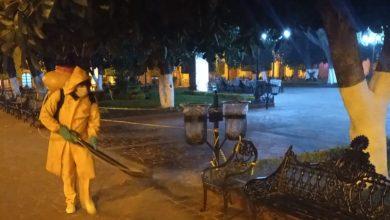Photo of Siguen las sanitizaciones en espacios públicos