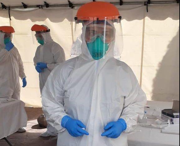 Una especialista de Salud Municipal se comisionó para apoyar en el Centro de Salud Delgadillo Araujo en el módulo de atención a enfermedades respiratorias