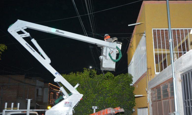 Con las nuevas luminarias tipo Led se asegura un ahorro energético para la ciudad