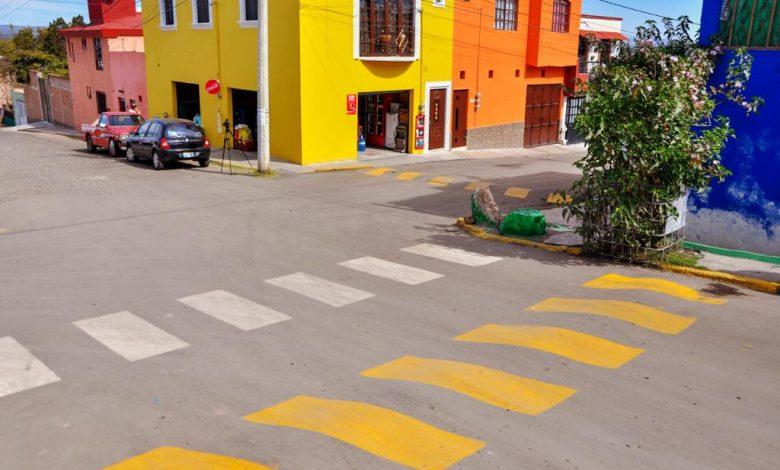 La obra consistió en la pavimentación asfáltica desde la calle Prolongación San José, Miguel Leandro Guerra y Acueducto