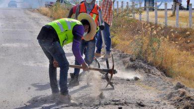 Photo of Trabajos de reconstrucción de la carretera hacia la comunidad de Los Azulitos