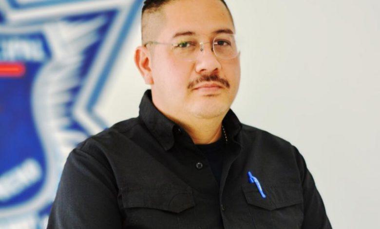 L.S.P. Moisés Torres Ramírez, quien estará al mando de la Seguridad Pública