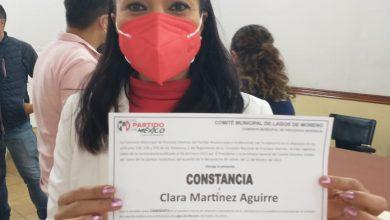 Photo of Clarita Martínez, se convierte en la primera candidata del PRI a la municipal