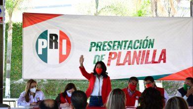 Photo of Presenta la candidata del PRI, Clara Martínez a su planilla de trabajo
