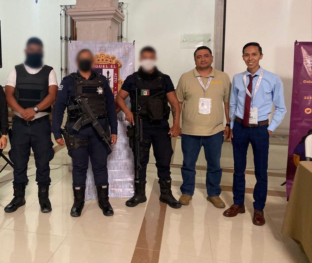 Policías de Lagos de Moreno se capacitaron en los protocolos de búsqueda de personas desaparecidas.