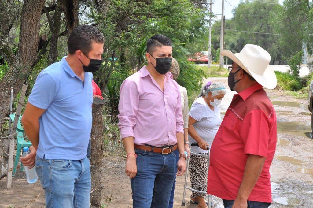 Vecinos de la zona de La Laguna sufrieron por inundaciones