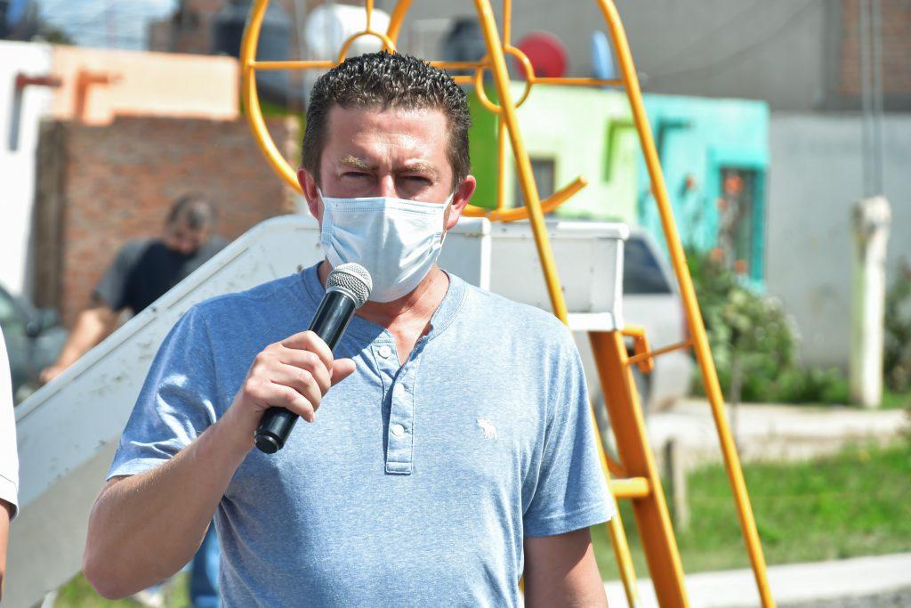 Fabricio Larios, Director de Obras Públicas